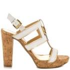cork high heels