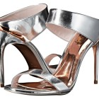 Ted Baker metallic mules