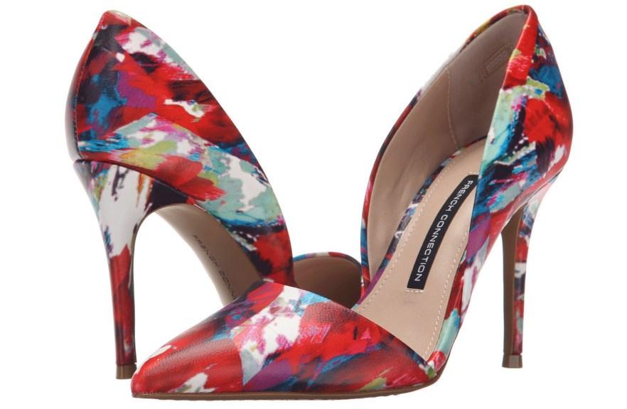 Floral shoe trend 2016