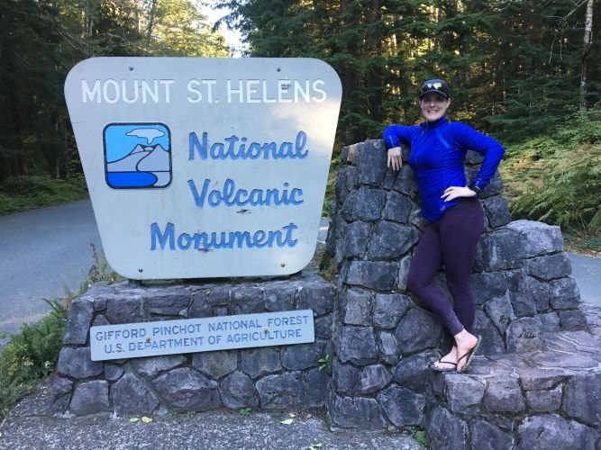 Mount st helen national monument hike donloree