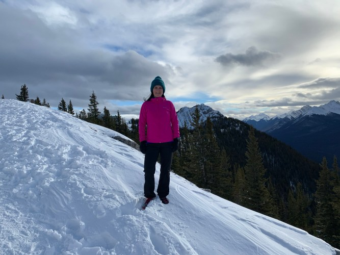 Top of Sulphur Mountain winter