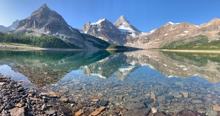 Guide to Hiking Lake Magog {Mount Assiniboine Provincial Park}