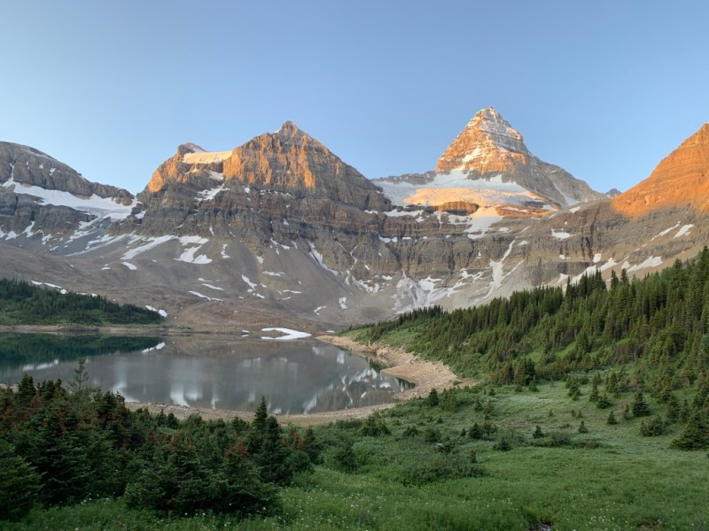 Lake Magog Mount Assiniboine Provincial Park