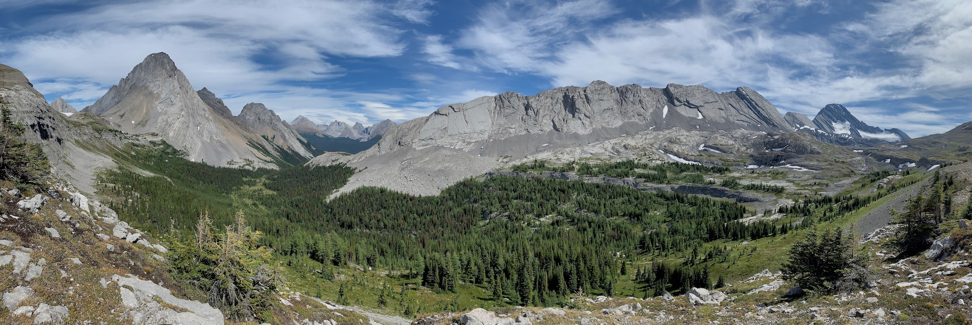 Burstall Pass {Peter Lougheed Provincial Park}