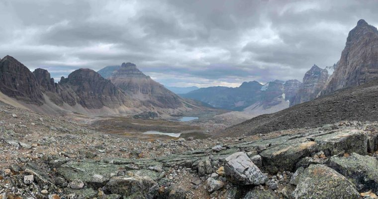 Eiffel Lake and Wenkchemna Pass {Banff National Park}