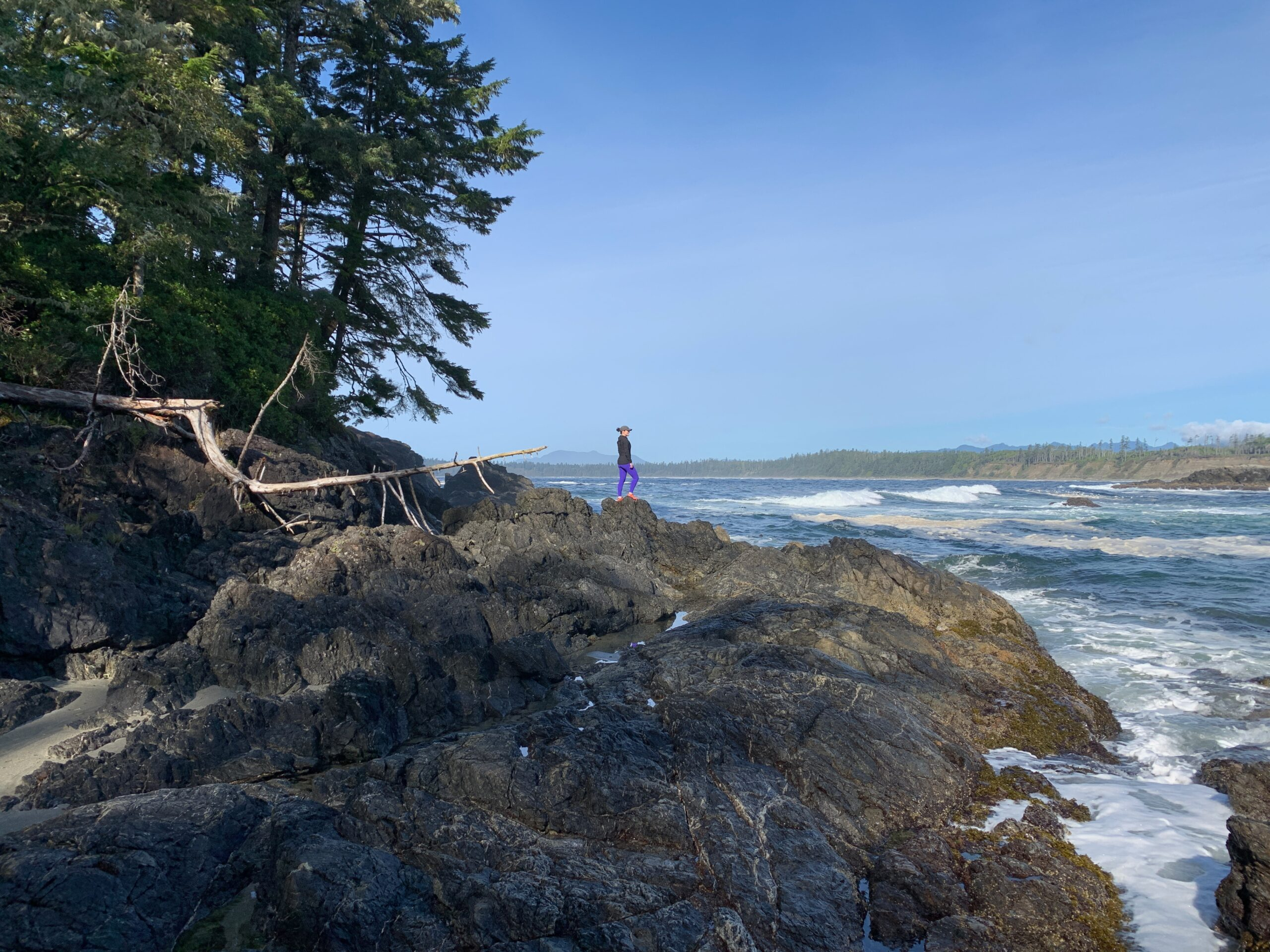 Halfmoon Bay and Florencia Bay {Pacific Rim National Park Reserve}
