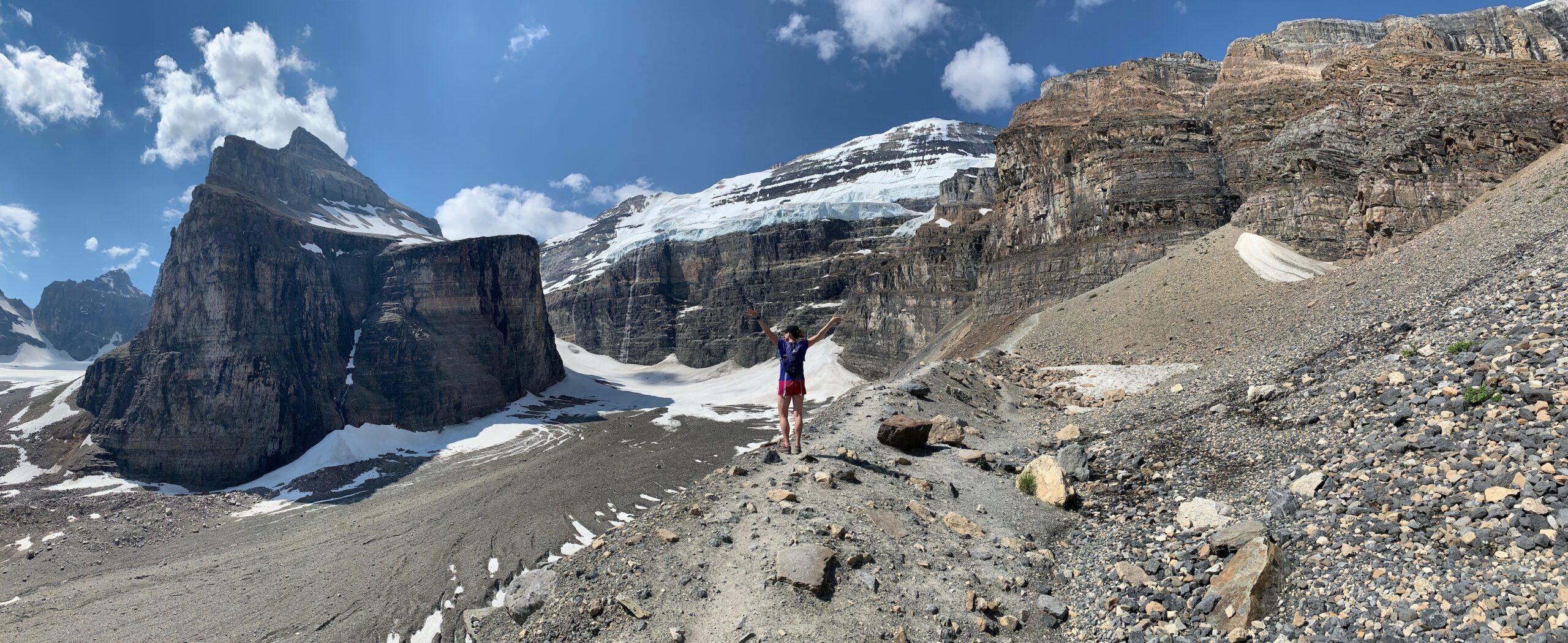 Plain of the Six Glaciers {Banff National Park}