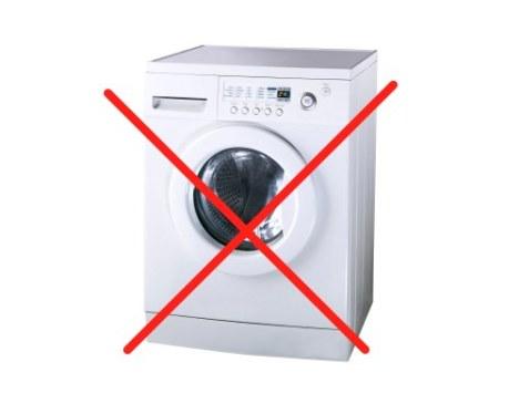 洗濯機は不要