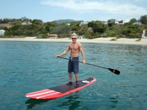 Mark Sisson is a Best-Selling Author, Popular Blogger, and a High-Intensity Training Expert, paddle boarding