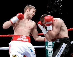 Tony Jeffries, Undefeated Professional Boxer