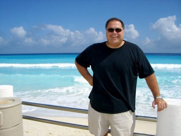 Pete Sisco in Cancun, Mexico