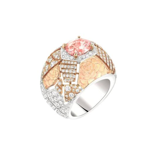 Chanel Café Society Sunset ring.