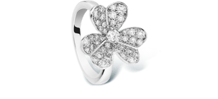 Frivole one flower ring
