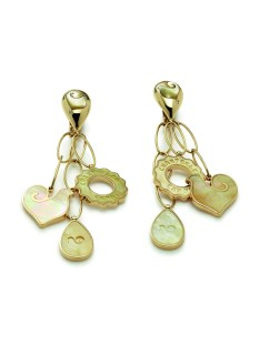 Chantecler Anima Collection pendant earrings