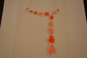 Gauche of the Enchanté necklace