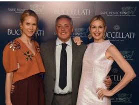 Indre Rockefeller, Alberto Milani, Kelly Rutherford.