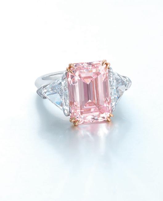 harry winston pink