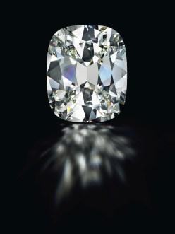 CUSHION-CUT K-COLOR DIAMOND OF 80.73 CARATS ESTIMATE: $3,000,000 – $5,000,000