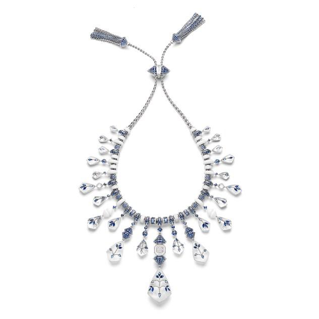 Jodhpur Necklace - back