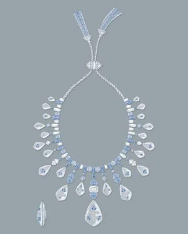 Boucheron, Bleu de Jodhpur High Jewellery Collection. Jodhpur Necklace.