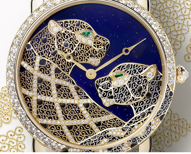 Cartier D'Art Ronde Louis Cartier