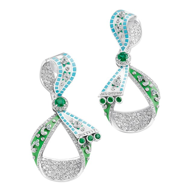 Fabergé Summer in Provence Earrings