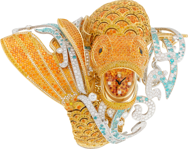 Van Cleef & Arpels Carpe Koï High Jewellery Watch