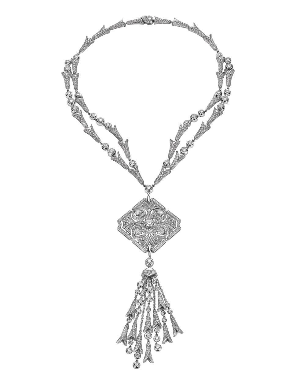 Sparkling Hearts Necklace