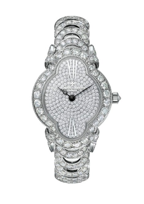 Heures Créatives - Heure Romantique with 264 round-cut diamonds (circa 6.3 cts)