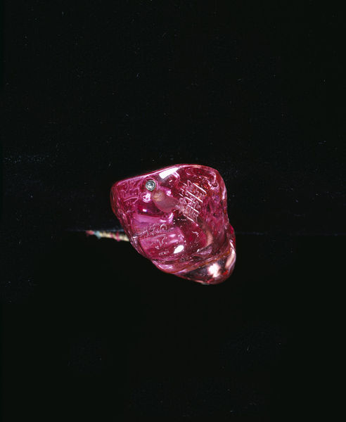 The Carew Spinel, Victoria & Albert Museum. Bequeathed by the Rt. Hon. Julia Mary, Lady Carew.