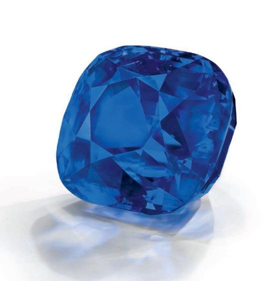 An impressive unmounted sapphire.