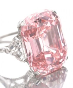 The Graff Pink Diamond.
