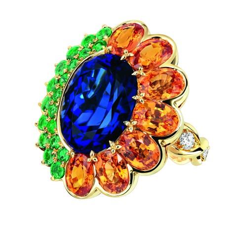 Granville Tanzanite Ring