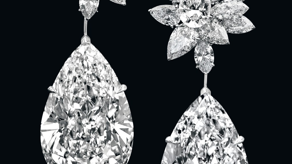 Boehmer et Bassenge diamond earrings