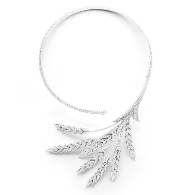 boucheron blé d'été necklace