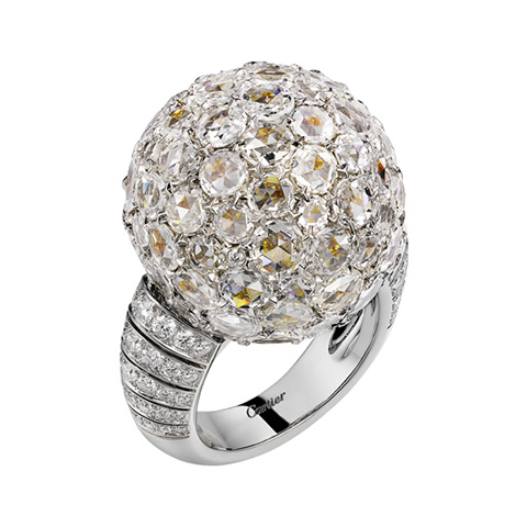 Cartier Magicien High Jewellery Ring