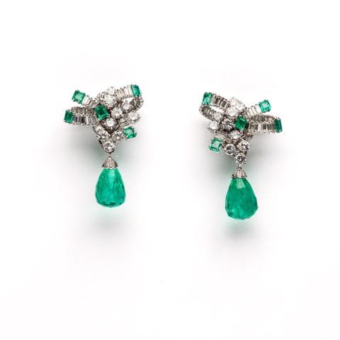 Faraone Casa d'Aste Chantecler earrings