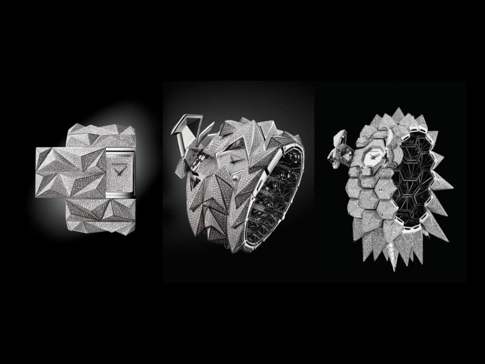 Audemars Piguet Diamond Punk, Diamond Fury and Diamond Outrage