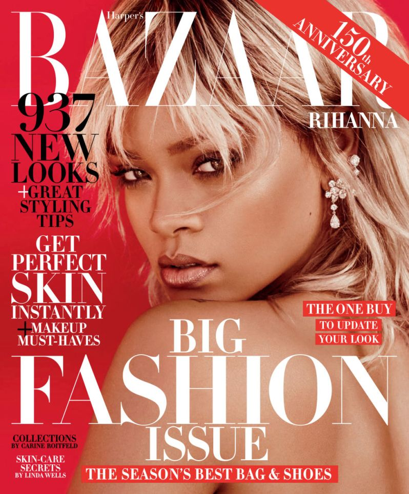 Harper's Bazaar-march-2017-Rihanna