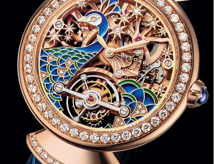 Divas' Dream Pavone Tourbillon