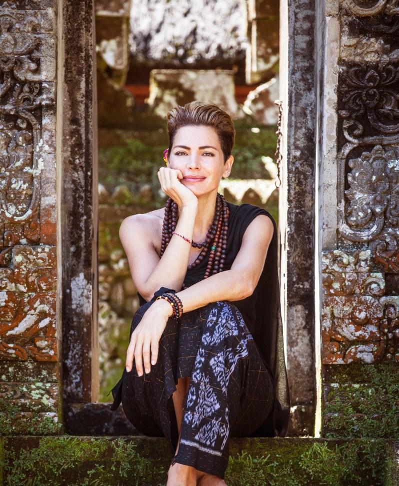 Alexandra Mor. Portrait by Ken Kochey