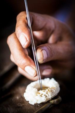 Savoir-faire shaping Alexandra Mor's Tagua Seeds Collection