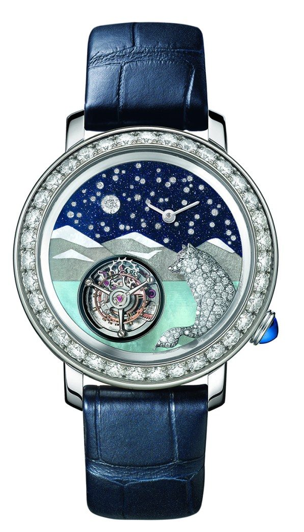 Tourbillon Loup watch