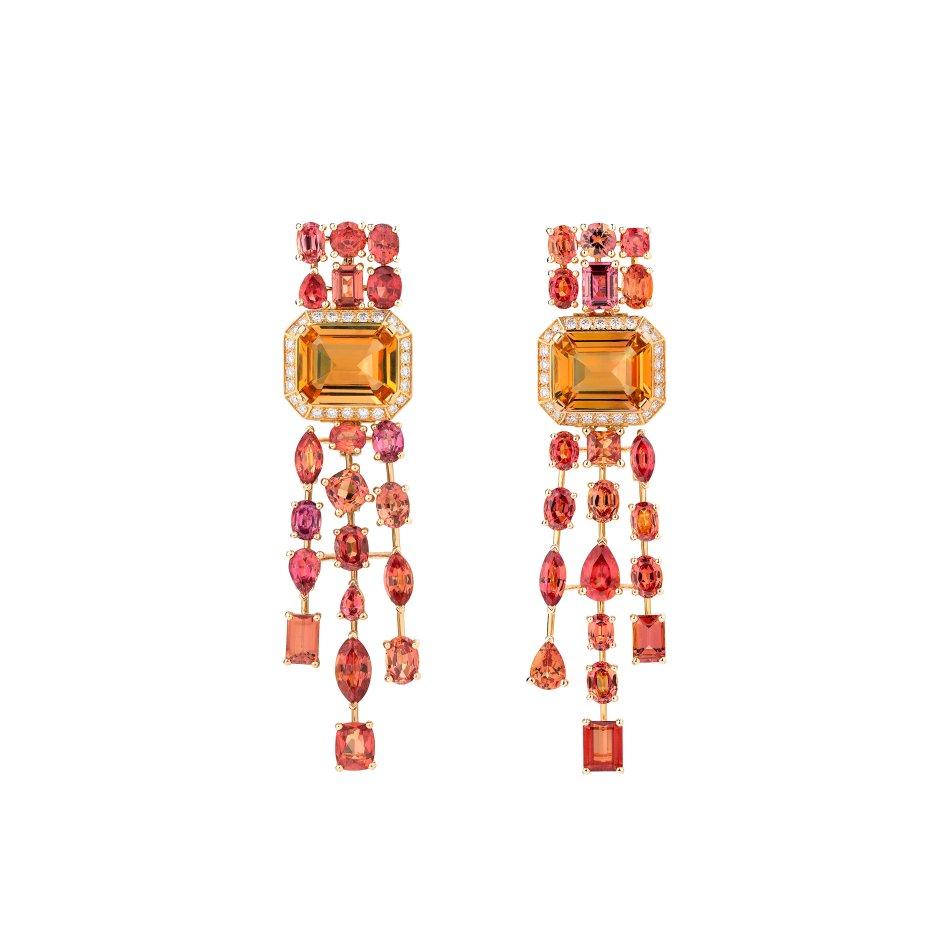 Chanel L'Esprit du Lion Passionate Earrings