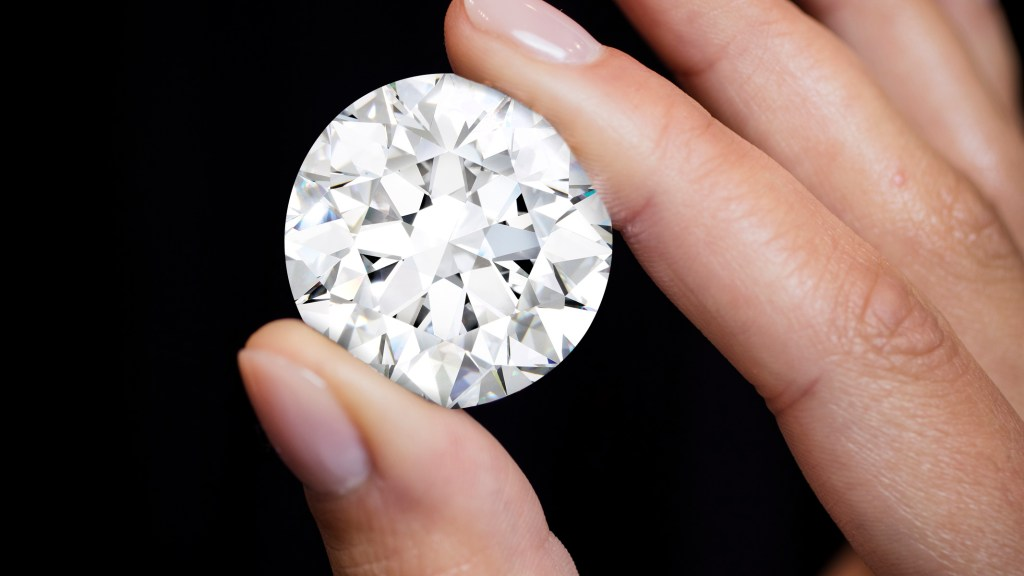 102.34-carat D colour Flawless diamond - Sotheby's Diamonds