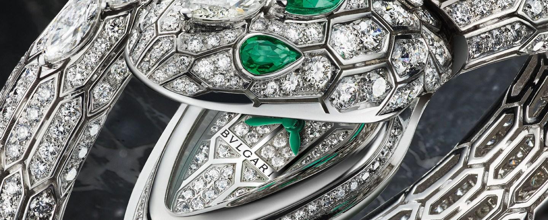 Bulgari Serpenti Misteriosi High Jewellery Watch