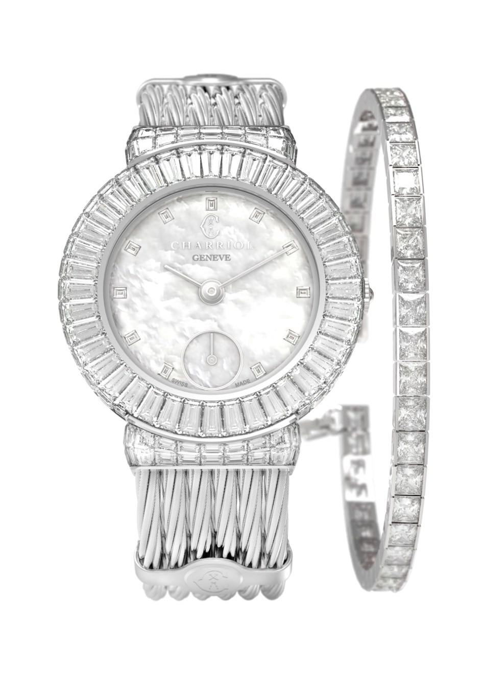 Charriol Genève St-Tropez Invisible Jewellery Watch