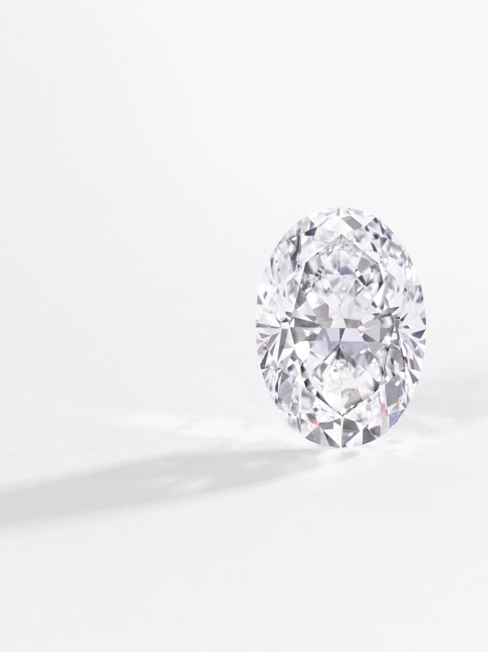 Oval D-Flawless diamond ring - 51.71 carats - Sotheby's Magnificent Jewels and Noble Jewels 15 May 2018
