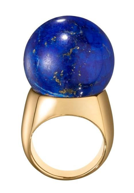 Belmacz - Il Mondo - Lapis Lazuli, 18ct Gold - Unique piece