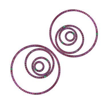 Emmanuel Tarpin - Earrings
